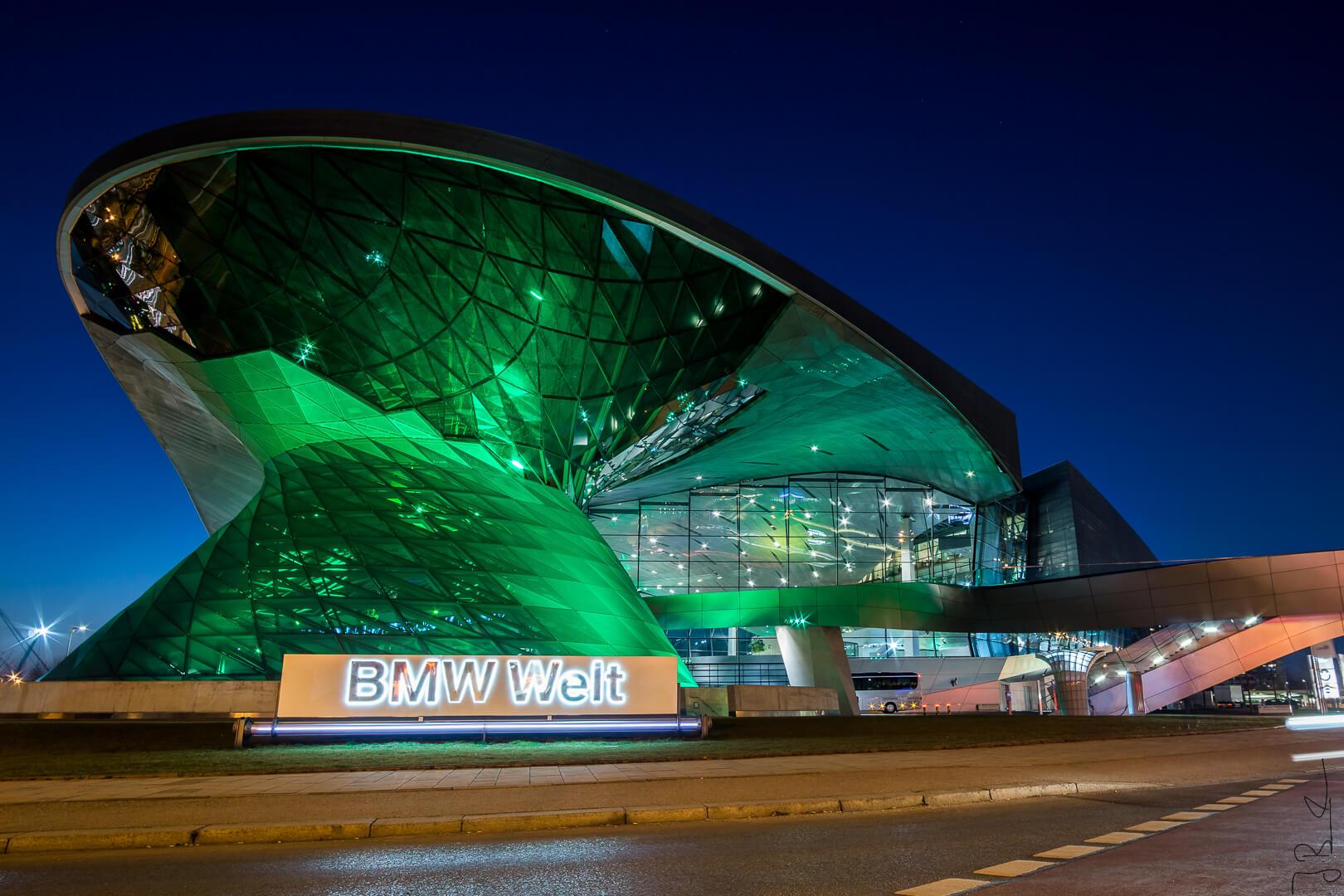 BMW Welt zum St. Patrick's Day