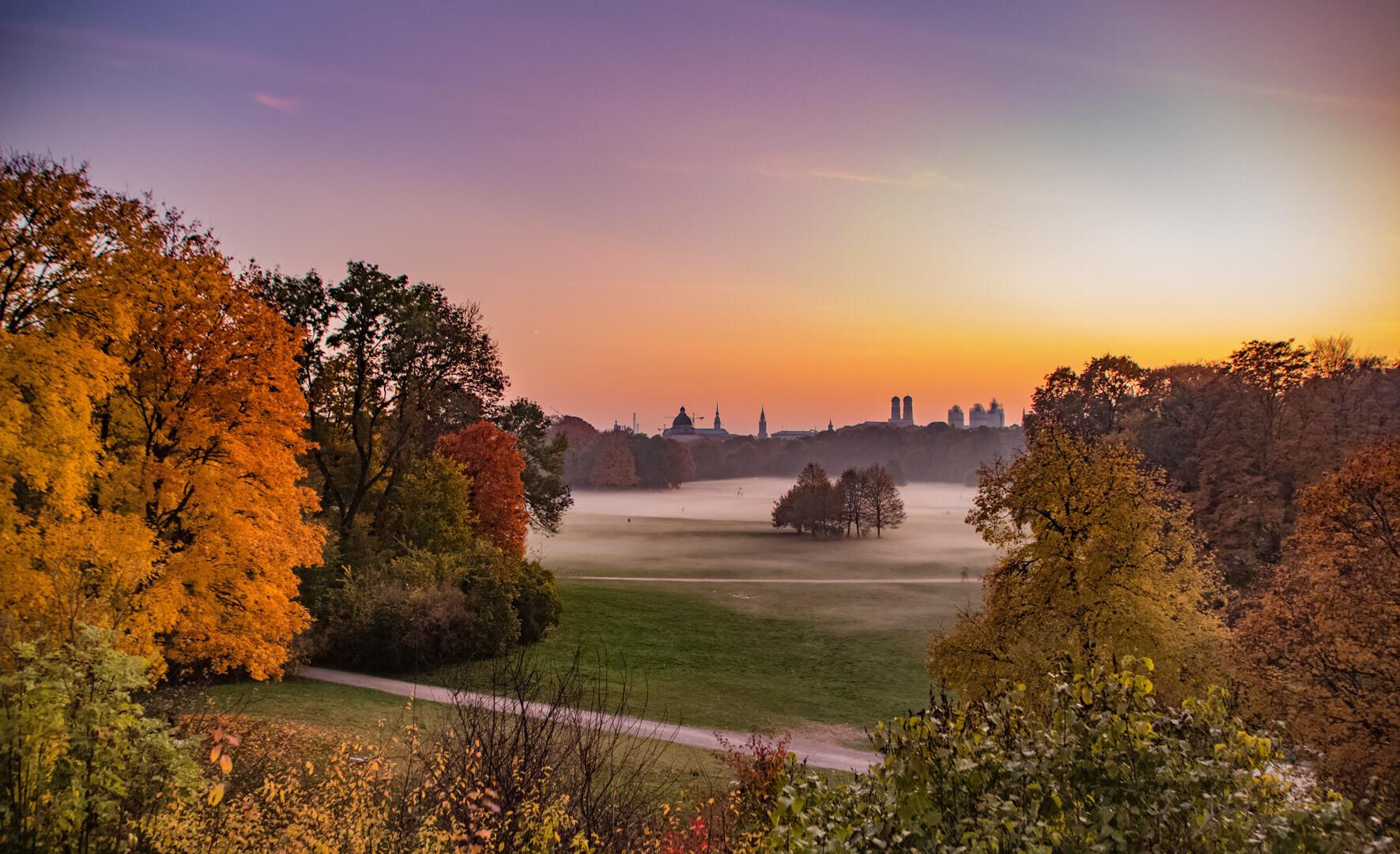 München im Herbst