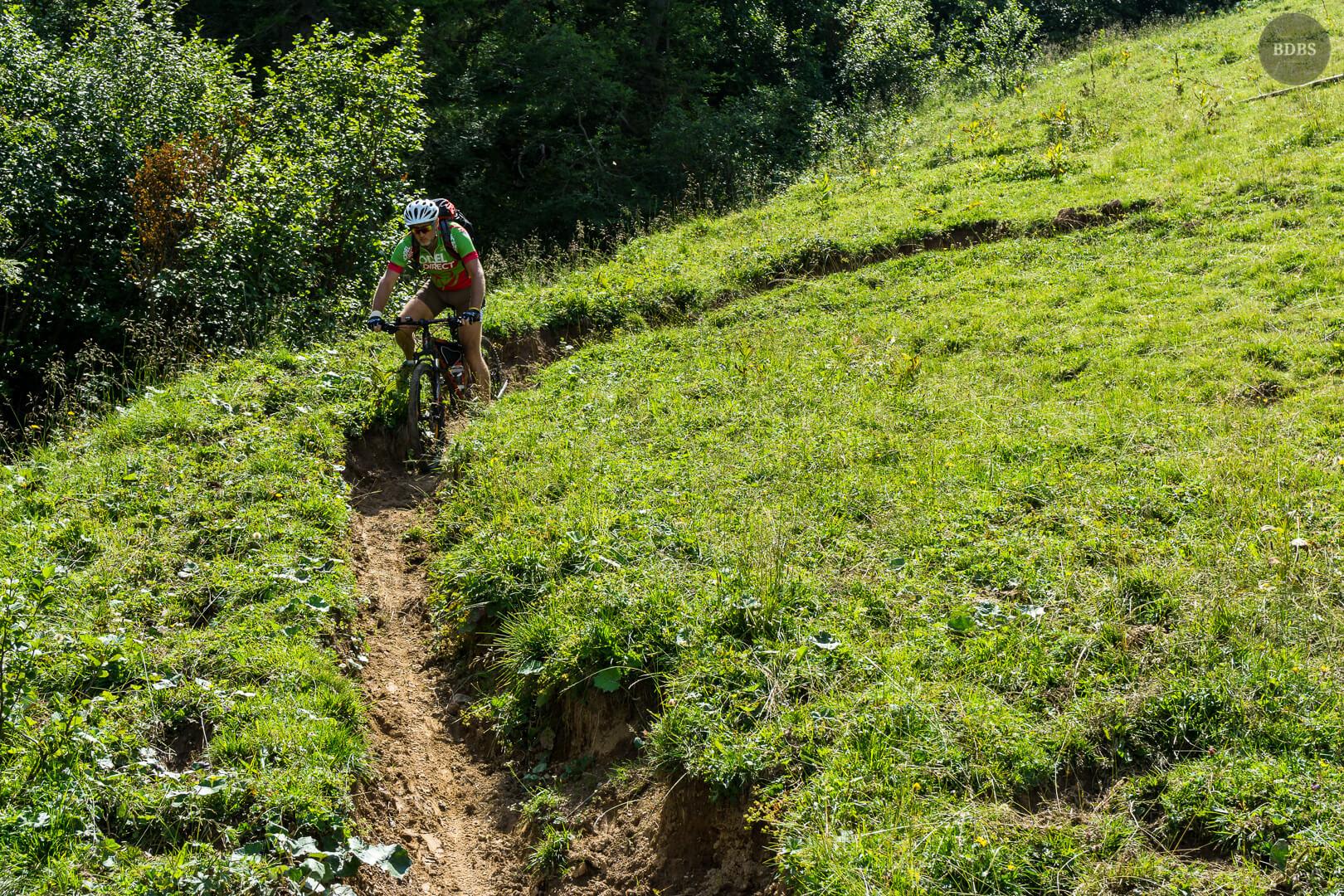 Abfahrt Trail