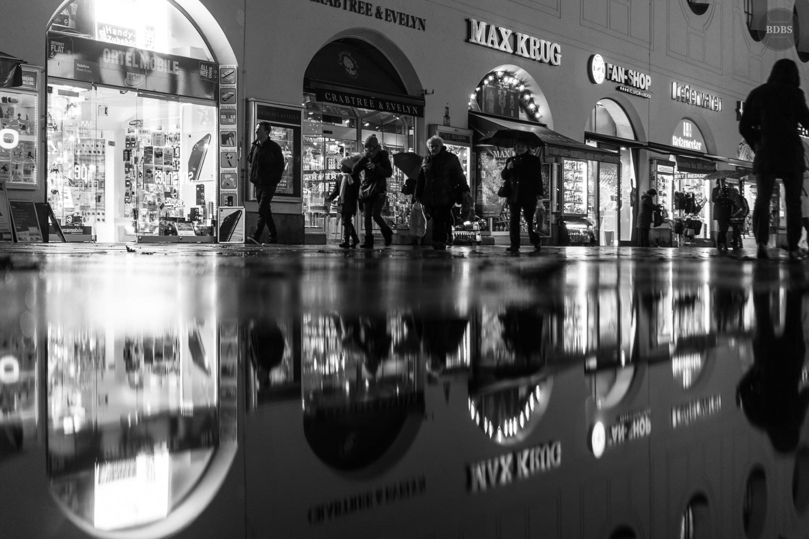 Regen(ISO mm f/, /Sek)