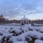 Winterpracht im Englischen Garten