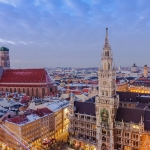 Die Münchner Skyline