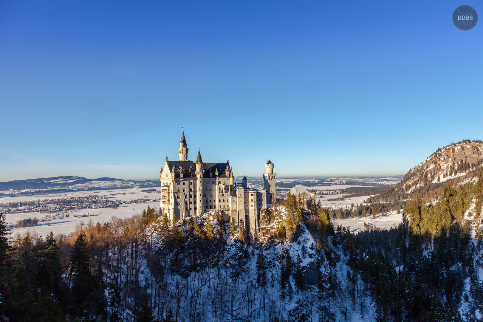 Schloss Neuschwanstein HDR ( 1/250 - f8,0 - 24mm - ISO100)
