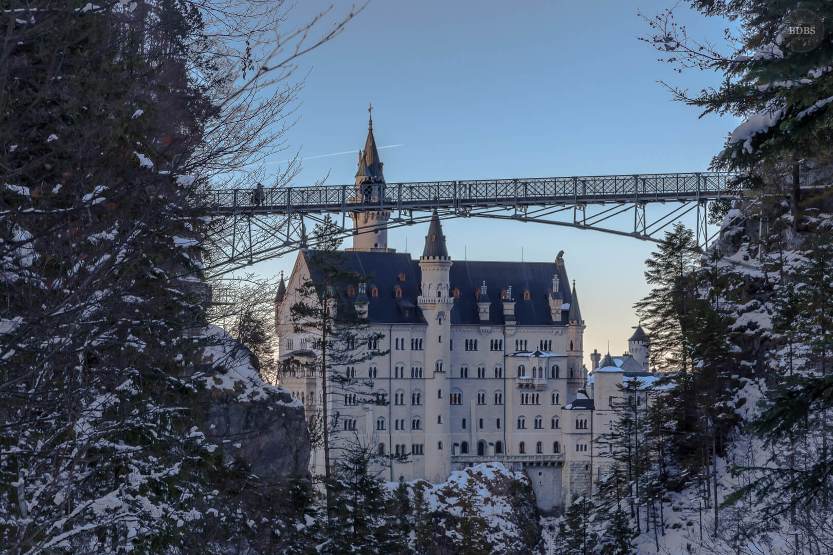 Schloss Neuschwanstein HDR ( 1/320 - f8,0 - 75mm - ISO100)