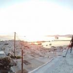 Intermezzo: Timelapse über Mykonos
