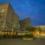 Intermezzo: Zeitraffer am Münchner Arabellapark