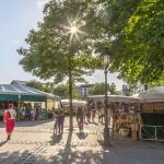 Der Münchner Viktualienmarkt wird 210 Jahre alt